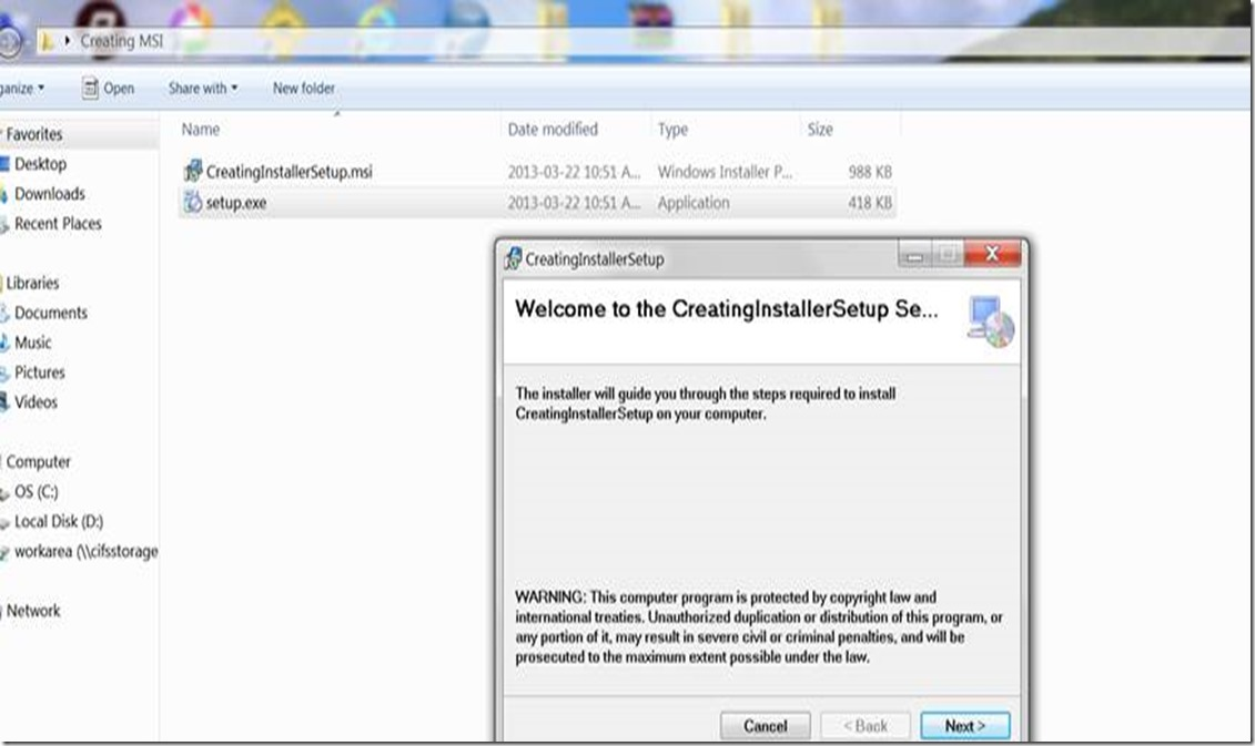Creating an MSI Package for C# Windows Application Using a