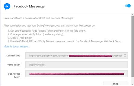 Dialogflow Webhook Authentication